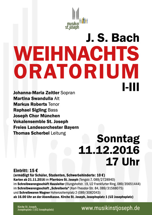 Musik in St. Joseph, München-Schwabing - Musik in St. Joseph